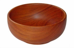 Solid Wood Bowl - 9""
