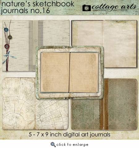 Nature's Sketchbook 16 Journals