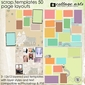 Scrap Templates 50 - Page Layouts