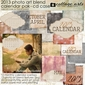 2013 CD Case Calendar - Photo Art Blends