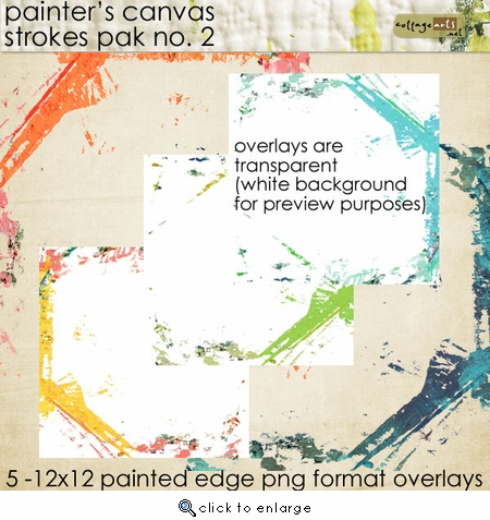 Painter's Canvas Strokes 2 Pak