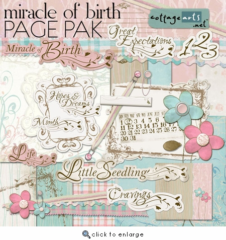 Miracle of Birth Page Pak
