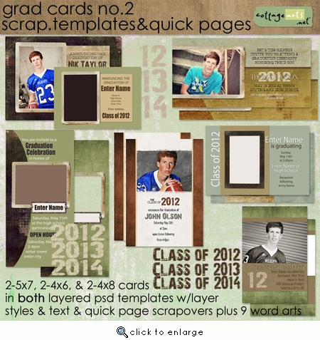 Grad Cards 2 - Templates and QPs