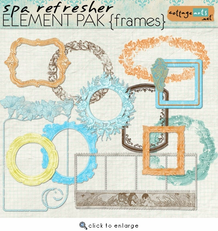 Spa Refresher Element Pak - Frames