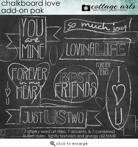 Chalkboard Love Add-On Pak