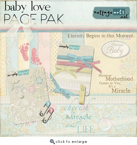 Baby Love Page Pak