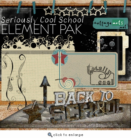 Seriously Cool School Element Pak