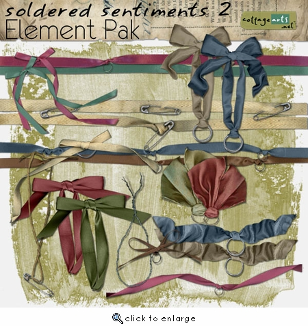Soldered Sentiments 2 Element Pak