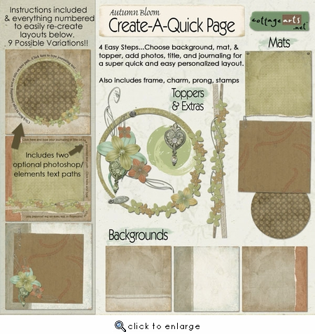 Create-A-Quick-Page 2 - Autumn Bloom