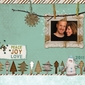 Winter Woodland Holiday Card/Layout Pak
