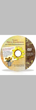 Learn Digital Scrapbooking  w/  Adobe® Photoshop® Elements 8