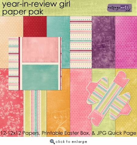 Year in Review - Girl Paper Bak w/Bonus