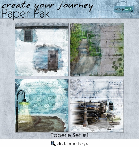 Create Your Journey 1 Paper Pak
