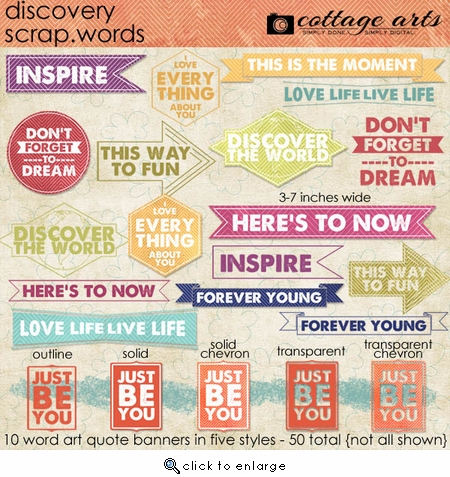 Discovery Scrap.Words