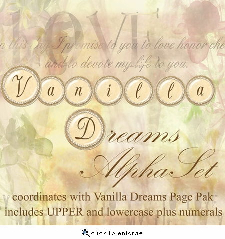 Vanilla Dreams AlphaSet