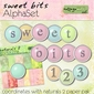 Sweet Bits AlphaSet