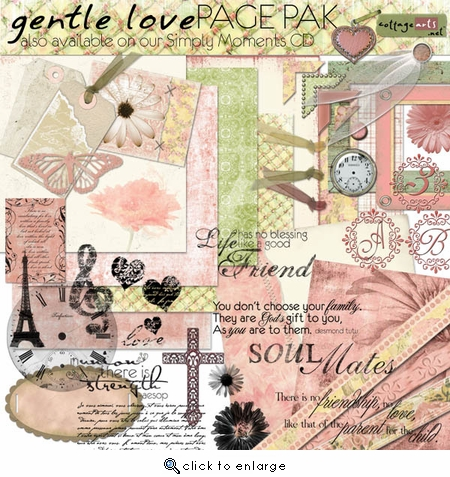 Gentle Love Page Pak