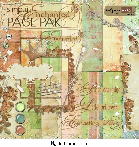 Simply Enchanted  Page Pak
