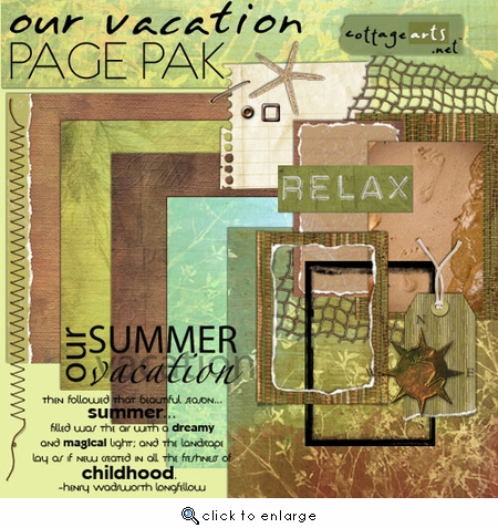 Our Vacation Page Pak