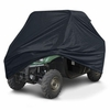 """UTV Storage Cover UTVs with Roll Cages up to 120""""L - Black"""