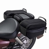 Motorcycle Saddle and Tank Storage Bags
