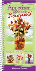 Delicious Designs, Appetizer & Snack Bouquets, Gift Cookbook (CQ Products)