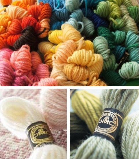Laine Colbert Tapestry Wool Yarn For Needlepoint Embroidery