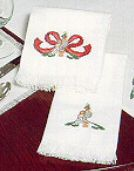 "Sal-Em: Fringed Napkin, 15x15"", cross stitch (Crafter's Pride)<br>(2_choices)"