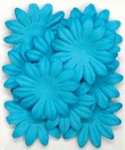 "Paper flowers, 5cm (1.97""), scrapbook (Kaisercraft)<br>(11_choices)<br><font color=red>Close out, very few left</font>"