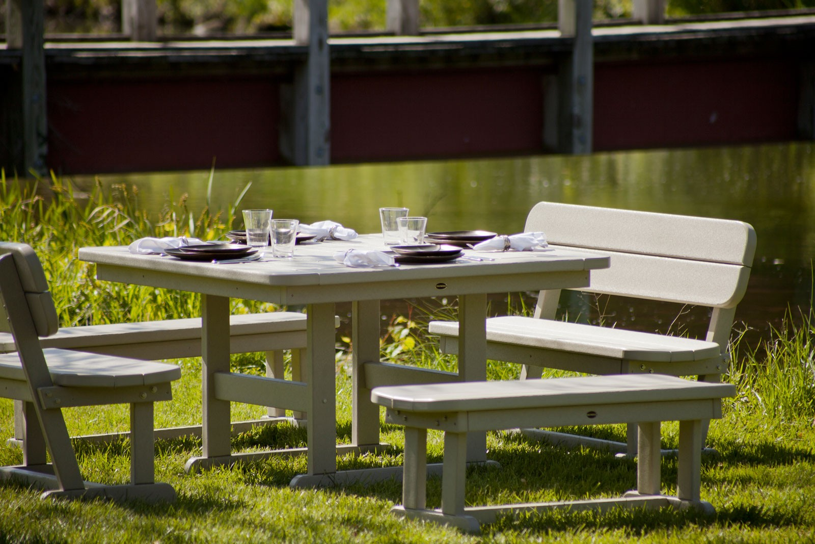 POLYWOOD Park Collection - Polywood park picnic table