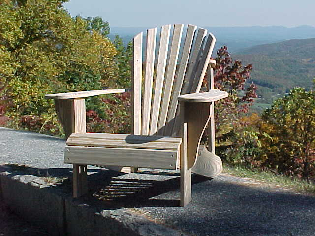 Original Cranberry  Pine Fanback Chair - USA MADE : adirondack chairs made in usa - Cheerinfomania.Com