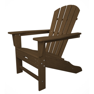 POLYWOOD® South Beach Ultimate Adirondack with Hideaway Ottoman