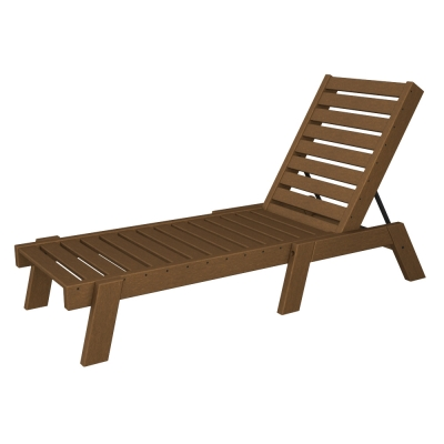 POLYWOOD® Captains Chaise Lounge