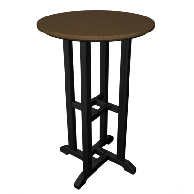 "POLYWOOD® Contempo 24"" Round Counter Table"