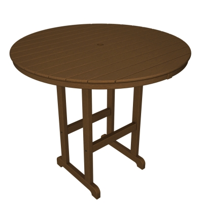 "POLYWOOD® Round 48""  Bar Table"
