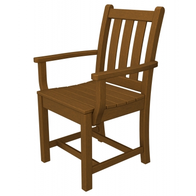 POLYWOOD® Traditional Garden Dining Arm Chair - Sold in Pairs