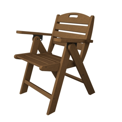 POLYWOOD® Nautical Lowback Chair