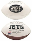 Ladainian Tomlinson - Autographed New York Jets Full Size Logo Football