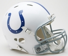 Indianapolis Colts Riddell Authentic Revolution NFL Full Size On Field Football Helmet
