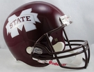 Mississippi State Bulldogs Riddell NCAA Full Size Deluxe Replica Football Helmet