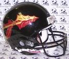 Florida State Seminoles w/Black Metallic Flake Riddell Authentic NCAA Full Size On Field Proline Football Helmet