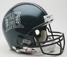 Hawaii Warriors Riddell Authentic NCAA Full Size On Field Proline Football Helmet