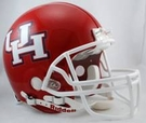 Houston Cougars Riddell Authentic NCAA Full Size On Field Proline Football Helmet