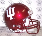Indiana Hoosiers Riddell Authentic NCAA Full Size On Field Proline Football Helmet