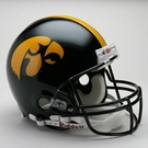 Iowa Hawkeyes Riddell Authentic NCAA Full Size On Field Proline Football Helmet