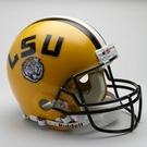 LSU Fighting Tigers Riddell Authentic NCAA Full Size On Field Proline Football Helmet