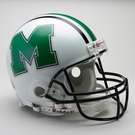 Marshall Thundering Herd Riddell Authentic NCAA Full Size On Field Proline Football Helmet
