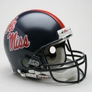Mississippi Rebels OLE MISS Riddell Authentic NCAA Full Size On Field Proline Football Helmet
