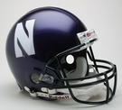 Northwestern Wildcats Riddell Authentic NCAA Full Size On Field Proline Football Helmet