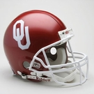 Oklahoma Sooners Riddell Authentic NCAA Full Size On Field Proline Football Helmet